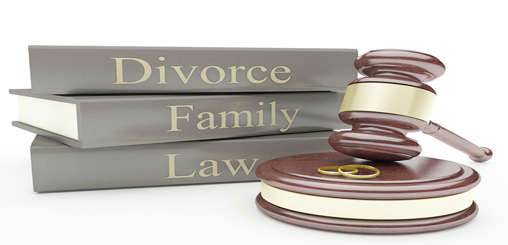 Family-Law-Books-with-Gavel