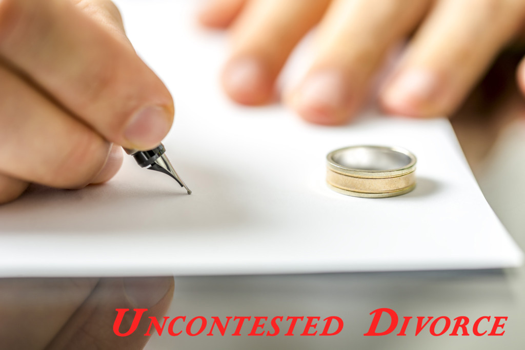 Uncontested Divorce Lawyer